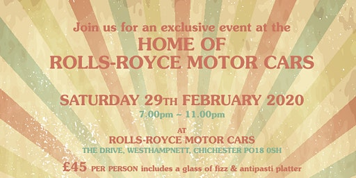 Rolls-Royce House Charity Fundraiser