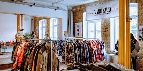 Vintage Kilo Sale • Hamburg • VinoKilo Tickets