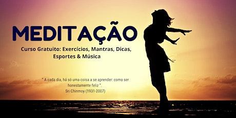PALESTRA GRATUITA: MEDITAÇÃO SRI CHINMOY BRASIL bilhetes