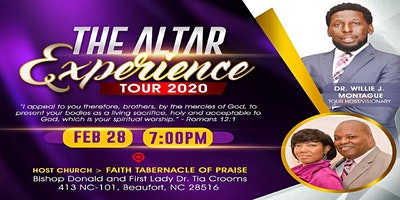 The Altar Experience Tour 2020 - Carteret County, NC