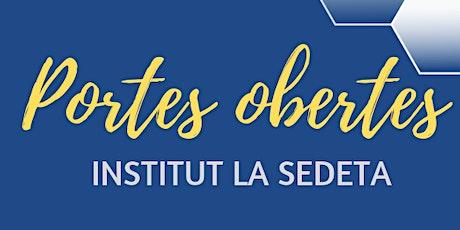 JPO Institut La Sedeta E2020 - Visita Centre entradas