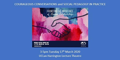 Courageous Conversations and Social Pedagogy in practice tickets