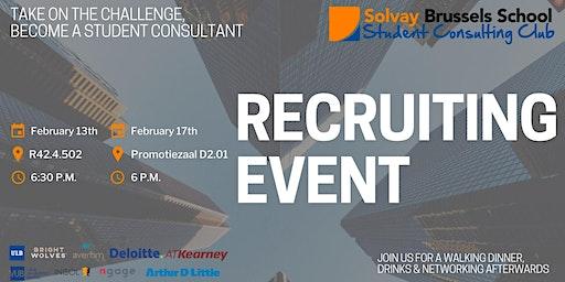 VUB Recruiting Event SCC