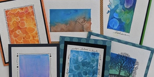 Water Color Greeting Cards