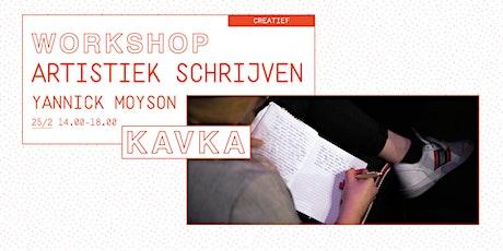 Workshop | Artistiek Schrijven tickets