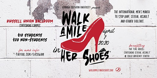 Georgia Southern Walk A Mile In Her Shoes 2020