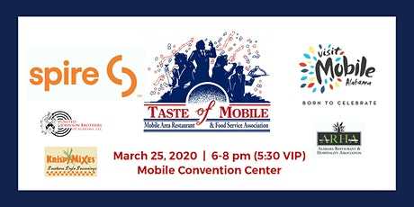 2020 Taste of Mobile tickets