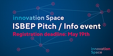 ISBEP pitch/info event tickets
