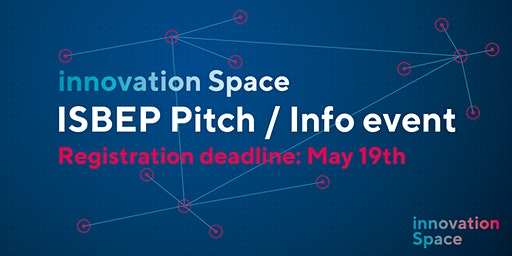 ISBEP pitch/info event