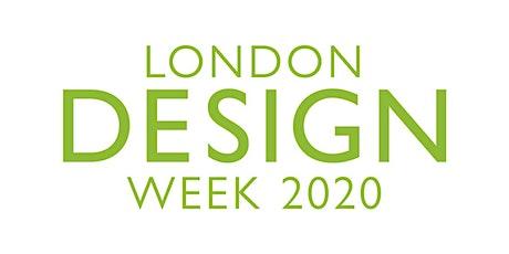 Conversations in Design - London Design Week 2020 tickets