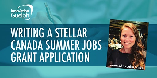 Writing a Stellar Canada Summer Jobs Grant Application