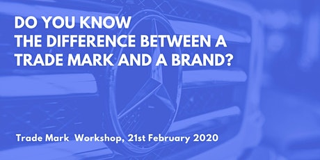 Do you know the difference between a trademark and a brand?  Plus CoWorking tickets