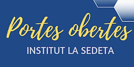 JPO Institut La Sedeta B2020- Visita Centre