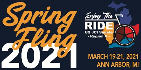 Spring Fling  2021 US JCI Senate Region V tickets