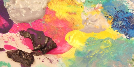 Mixed Media Painting Workshop in Brighton Seaside Home tickets