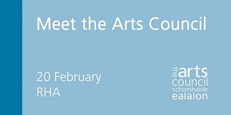 Meet the Arts Council tickets