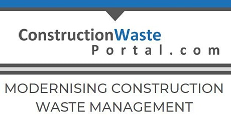 ConstructionWastePortal.com Launch Event tickets