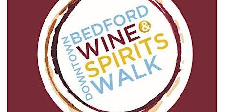 Wine & Spirits Walk tickets