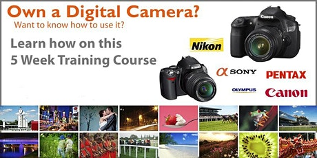 Digital Photography 5 Week Training Course tickets