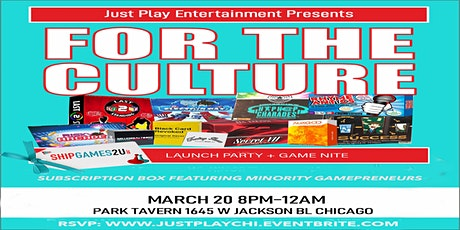 For The Culture Chicago tickets