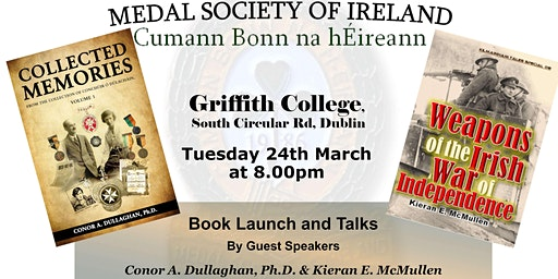 MSOI Double-Barrelled Book Launch & Lectures by C Dullaghan & K McMullen