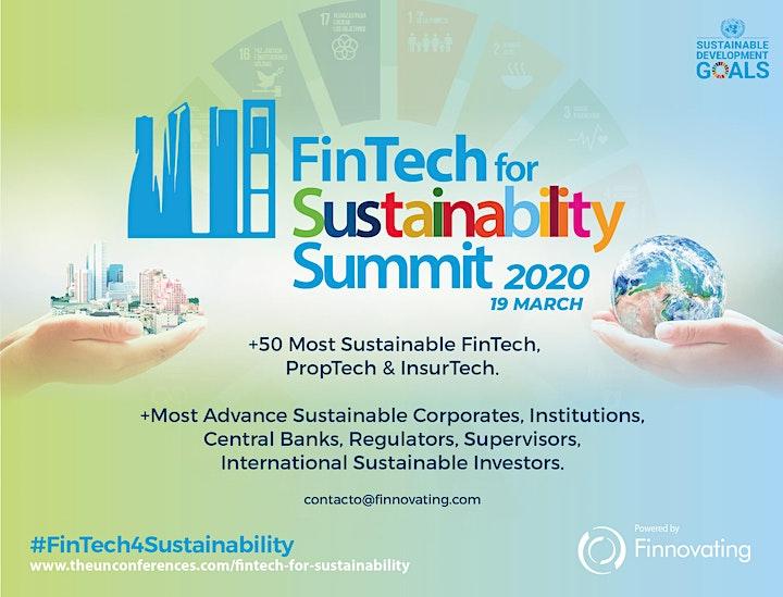 Imagen de FinTech for Sustainability SUMMIT 2020