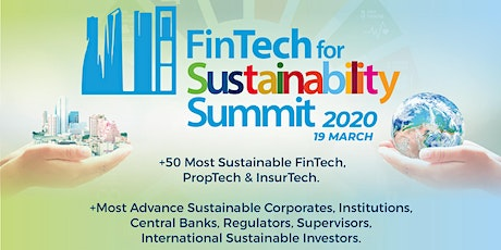 FinTech for Sustainability SUMMIT 2020 tickets