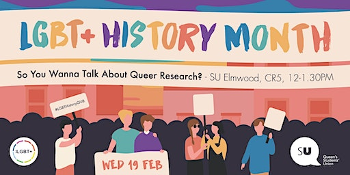 LGBT+ History Month - Queer Research? in coversation with Dr Jamie Hagan