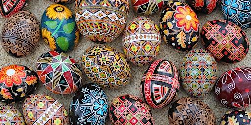 Pysanky Egg Art Class