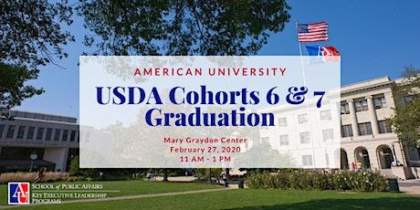 USDA Cohorts 6 & 7 Graduation tickets