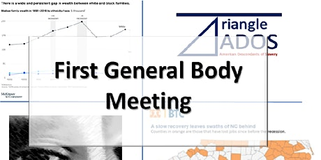 Triangle ADOS First General Body Meeting tickets