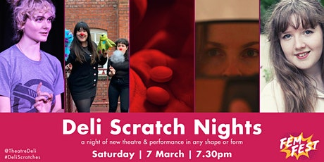 Deli Scratch Nights - FEMFEST special tickets