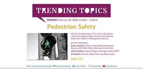 Discussion About Pedestrian Safety tickets