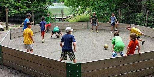Christenberry Elementary  Volunteer Work Day  Gaga Ball Pit Installation