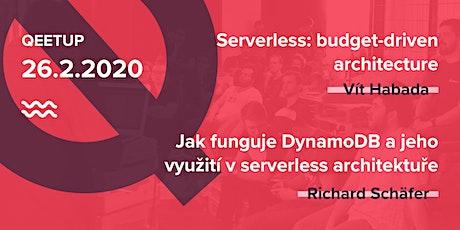 Qeetup vol. 9: Serverless - další dimenze tickets