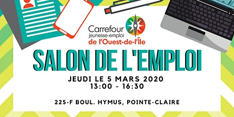 SALON DE L'EMPLOI! // JOB FAIR! tickets