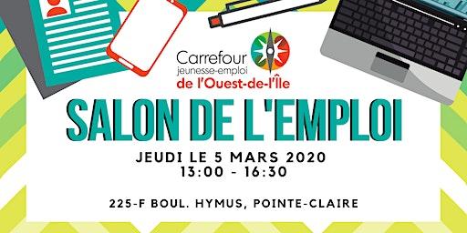 SALON DE L'EMPLOI! // JOB FAIR!