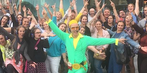Guru Dudu's Elton John Beach Silent Disco Walking Tour of Sunshine Coast - Feb 29