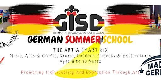 "GERMAN SUMMER SCHOOL ""The Art & Smart Kid"", Summer Camp"