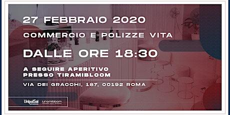 UnipolSai Ottaviano | Aperitivo Polizze Commercio e Vita tickets