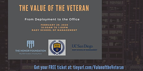 The Value of the Veteran tickets