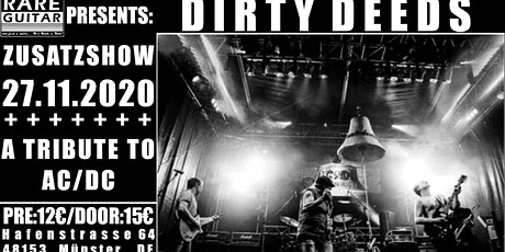Zusatzshow: AC/DC Tribute Dirty Deeds Tickets