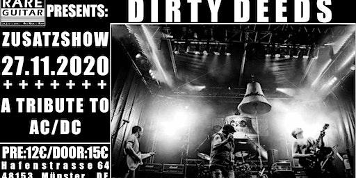 Zusatzshow: AC/DC Tribute Dirty Deeds