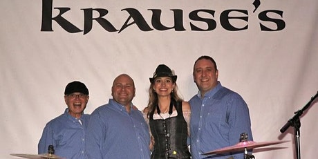 Squeezebox and Mollie B. at Krause's Cafe supporting the Marktplatz tickets