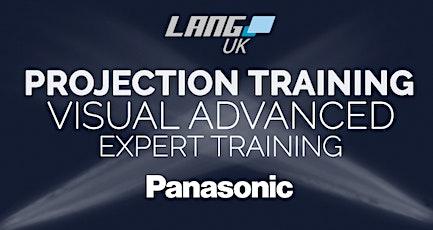 PANASONIC - PROJECTION TRAINING - VISUAL ADVANCED EXPERT tickets