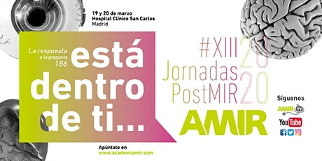 Jornadas PostMIR AMIR 2020 entradas