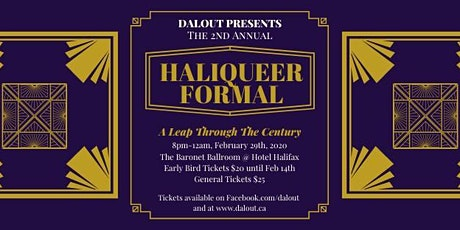 HaliQueer Formal 2020: A Leap Through The Century tickets