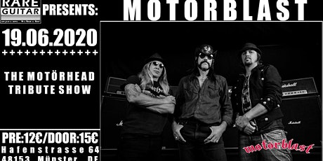 Motörhead Tribute – Motörblast Tickets