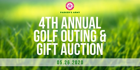 4th Annual Parker's Army Golf Outing & Gift Auction tickets