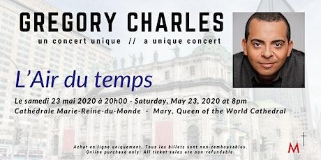 Gregory Charles - L'Air du temps billets